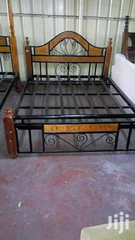 Mix Wooden Plus Metallic Beds | Furniture for sale in Eastleigh North, Nairobi, Kenya