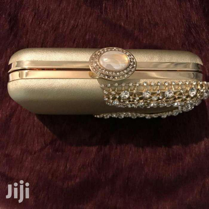 Archive: Gold Wedding Clutch