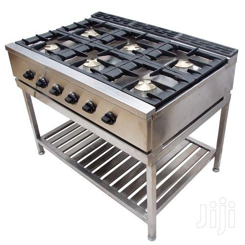 Archive: Stainless Steel 6 Burner Commercial Gas Cooker