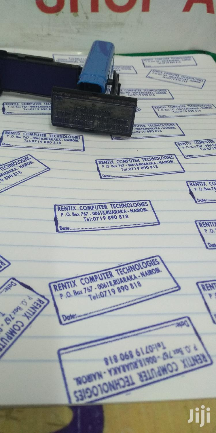 Rubber Stamps | Other Services for sale in Nairobi Central, Nairobi, Kenya