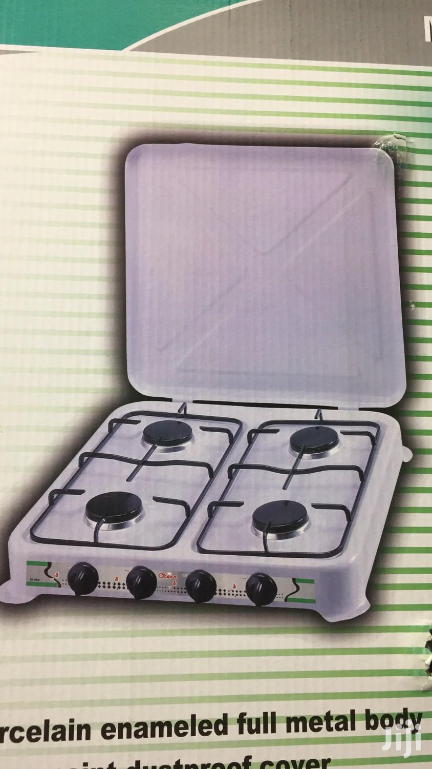 Archive: 4 Burner Gas Cooker