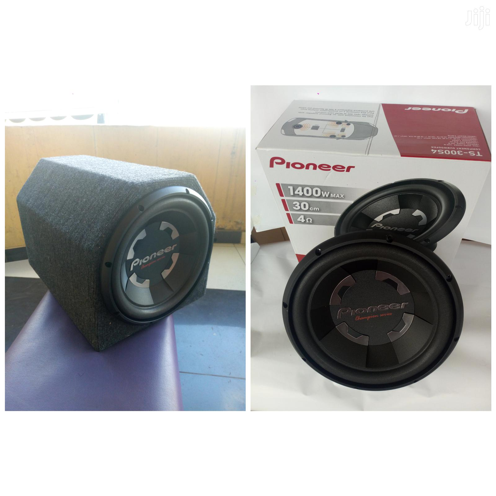 Archive: Pioneer TS-W300S4 1400 Watts 400 Watts Rms Woofer New In Shop Deep Bas
