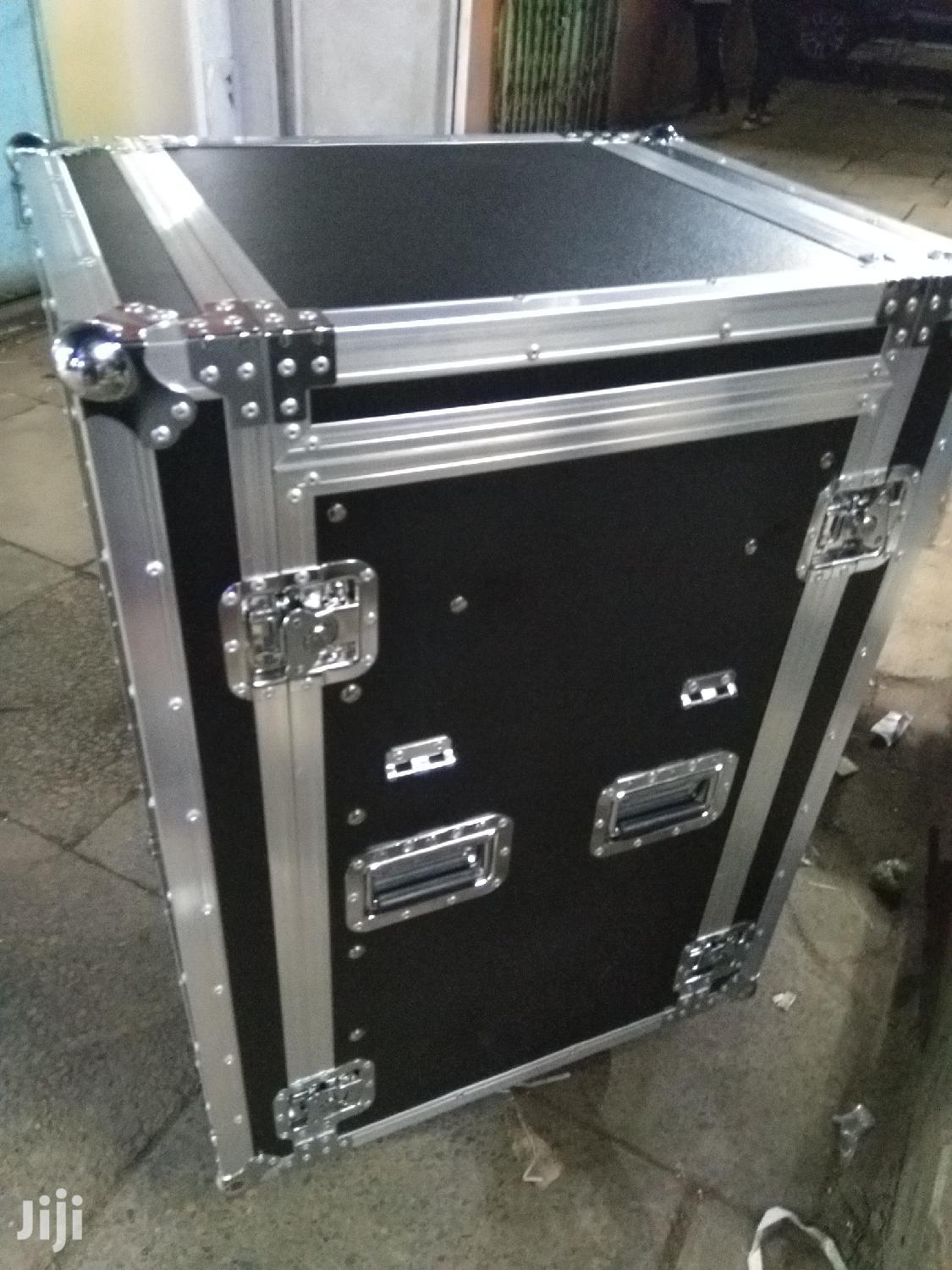 Flight Case / Rack Case For Mixer And Amplifier