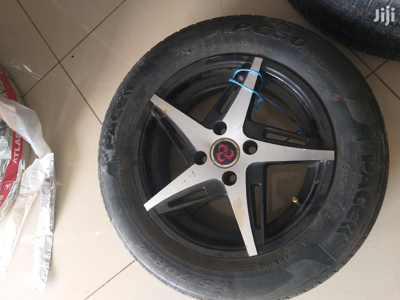 175/70R14 Rim & Tyres
