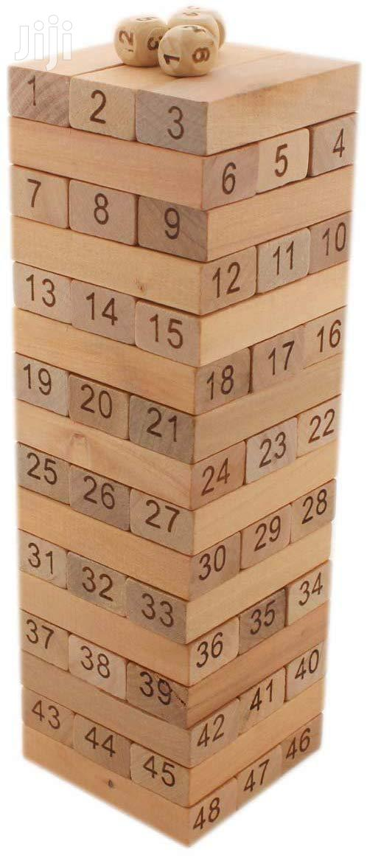 Jenga Block Tower Game