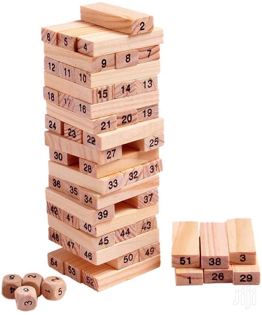 Jenga Block Tower Game | Books & Games for sale in Nairobi Central, Nairobi, Kenya