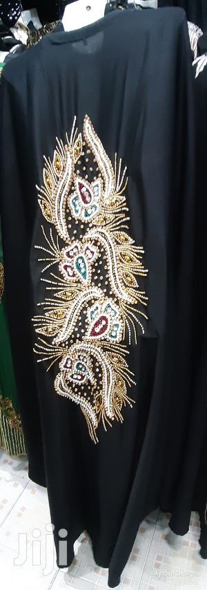 New Heavy Stonework and Embroided Abayas Available on Hand