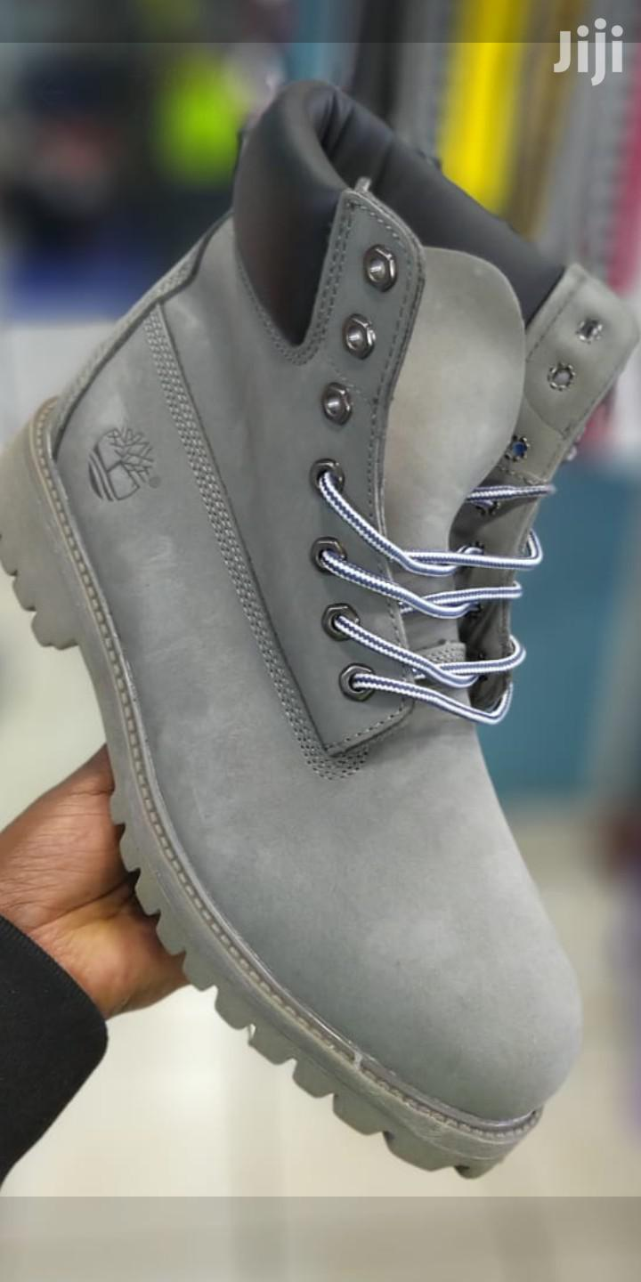 Classy Unisex Grey Timberlands   Shoes for sale in Nairobi Central, Nairobi, Kenya
