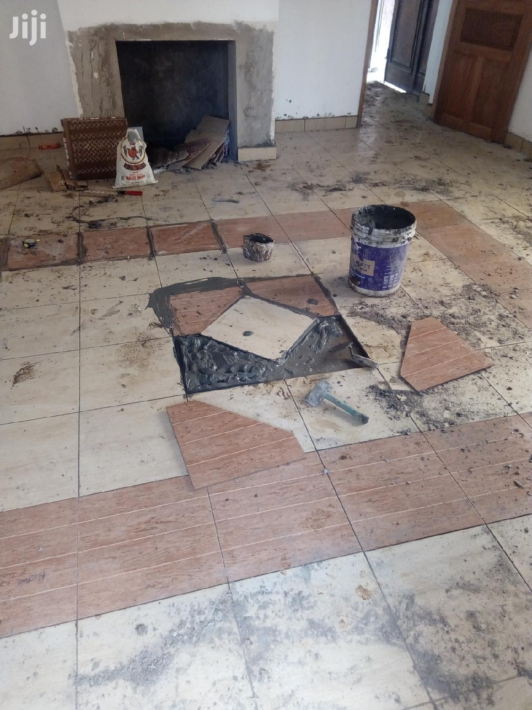 Tiles Fixing