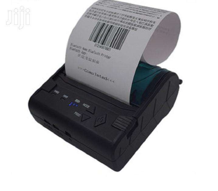 80mm Small Bluetooth Receipt Printer for POS System