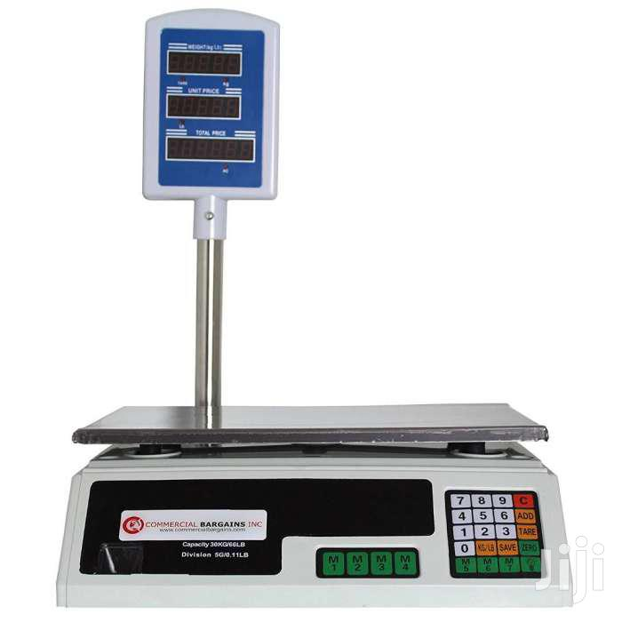 30KG Digital Price Computing Retail Weight Scale Shop Commercial Recha