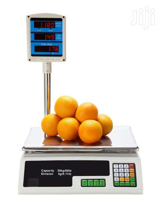 30KG Digital Price Computing Retail Weight Scale Shop Commercial Recha | Store Equipment for sale in Nairobi Central, Nairobi, Kenya