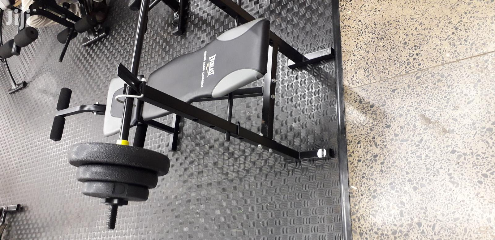 Archive: Everlast Gym Benches