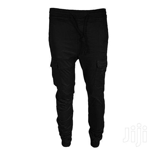 Black Cargo Pants | Clothing for sale in Nairobi Central, Nairobi, Kenya