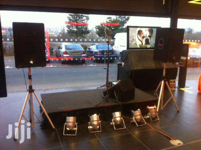 PA System And TV For Hire