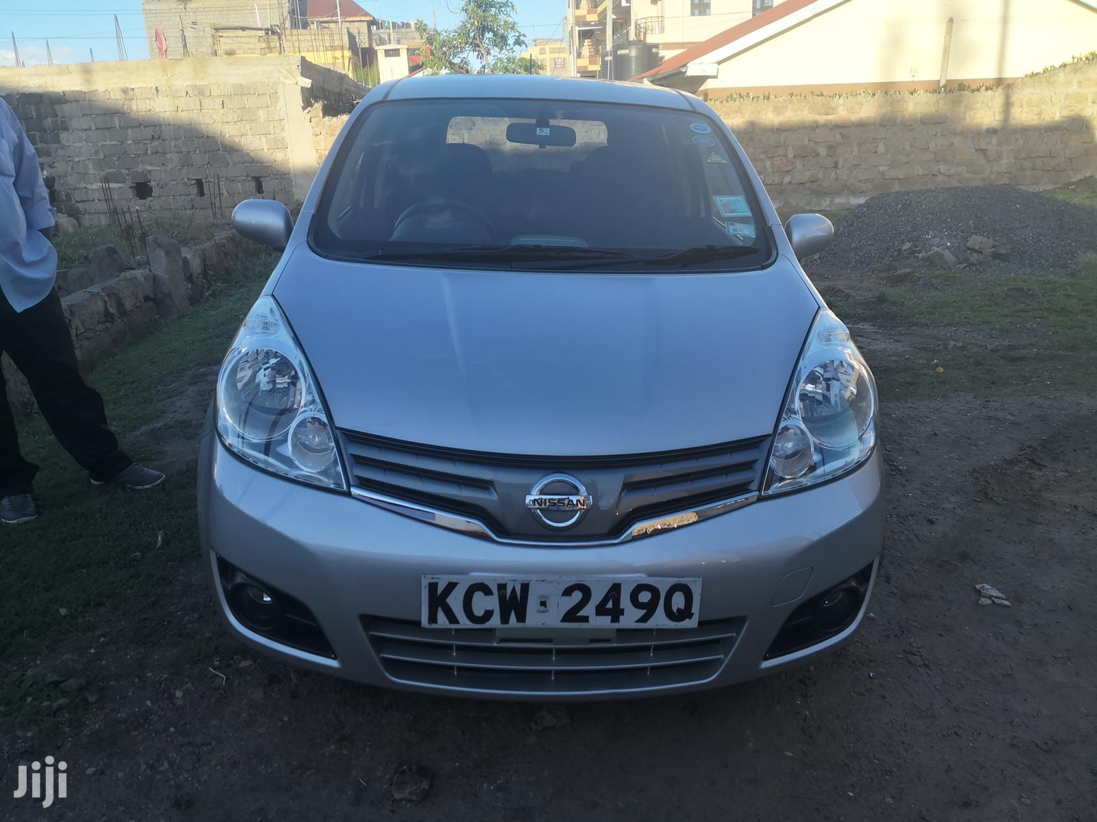 New Nissan Note 1.4 2012 Silver