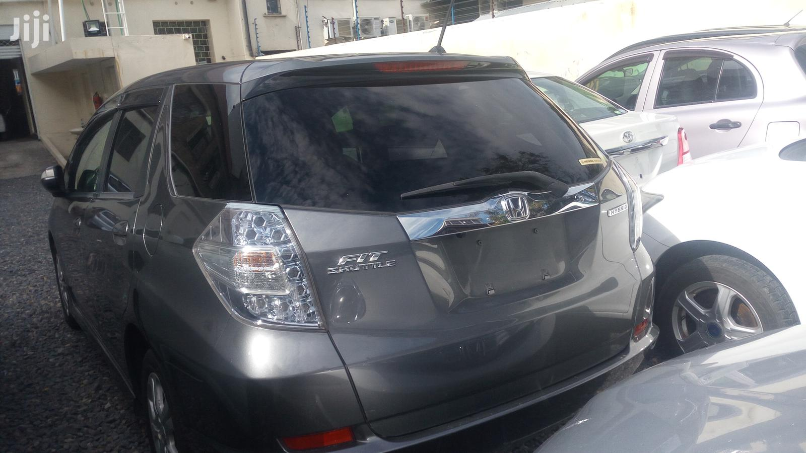 Archive: New Honda Fit 2013 Gray