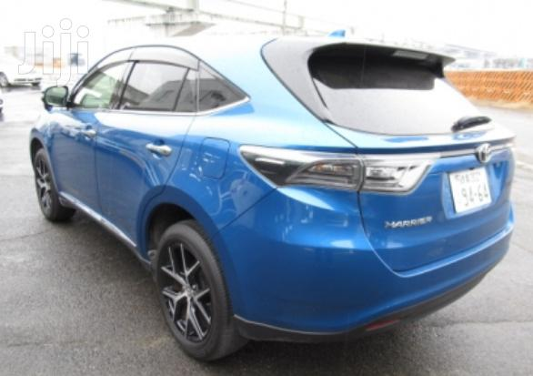 Archive: Toyota Harrier 2017 Blue