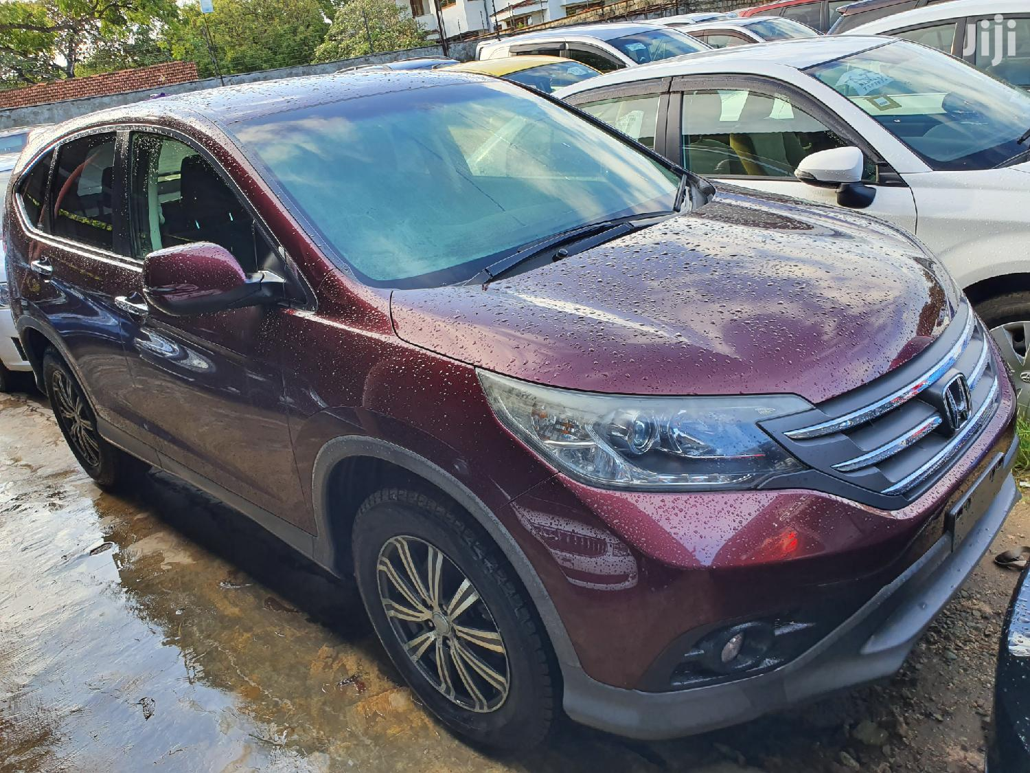 New Honda CR-V 2012 Red