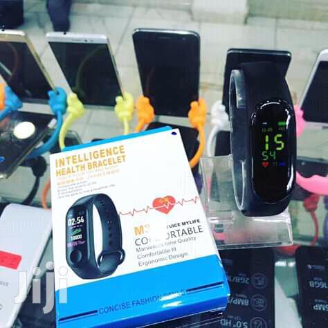 Archive: Blood Pressure And Heart Rate Smart Bracelet M3 Model
