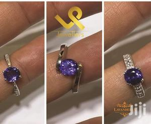 Custom Made Gold With Tanzanite Ladies Engagements Ring   Wedding Wear & Accessories for sale in Nairobi, Nairobi Central