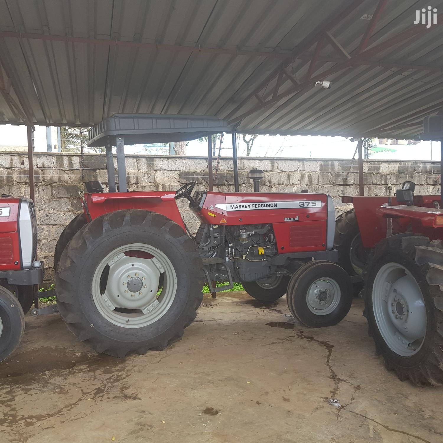 Mf 375 2wd Tractor Red