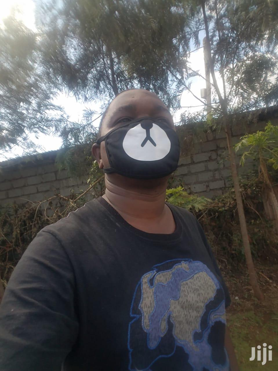 Shmateo Ayo and Teo Print Face Mask Bear Anti-Dust Mouth-Muffle Kenya | Clothing Accessories for sale in Mountain View, Nairobi, Kenya