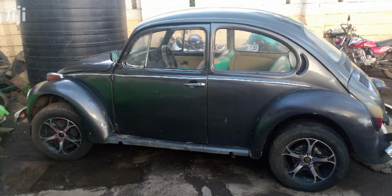 Archive: Volkswagen Beetle 1961 Cabriolet Black
