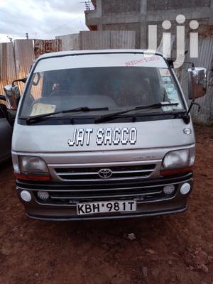 Toyota Hiace 2002 Silver For Sale   Buses & Microbuses for sale in Kiambu, Juja