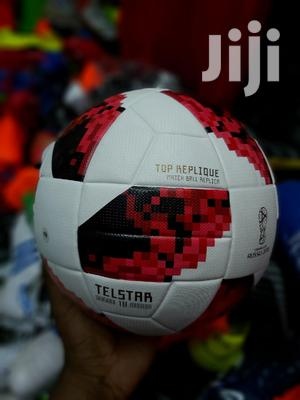 The Adidas 2018 FIFA World Cup Russia Telstar Top Replique Soccer Ball   Sports Equipment for sale in Nairobi, Westlands