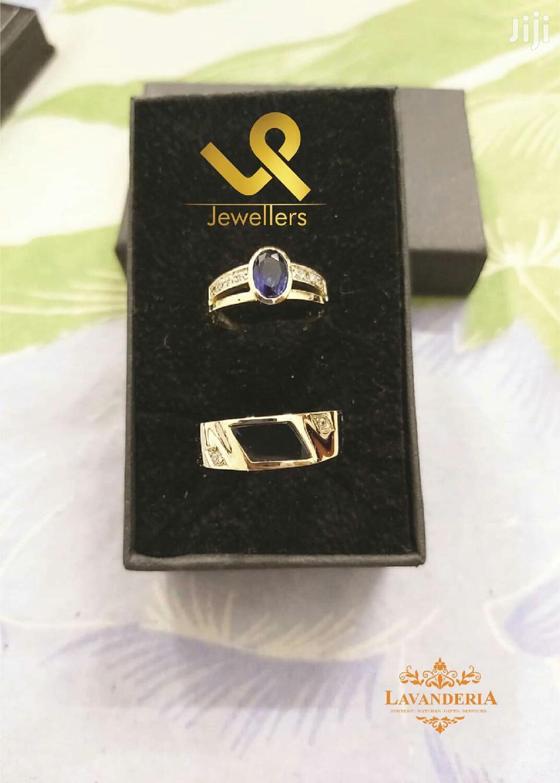 Custom Made 18k Gold Couple Bride N Groom Wedding Ring Bands