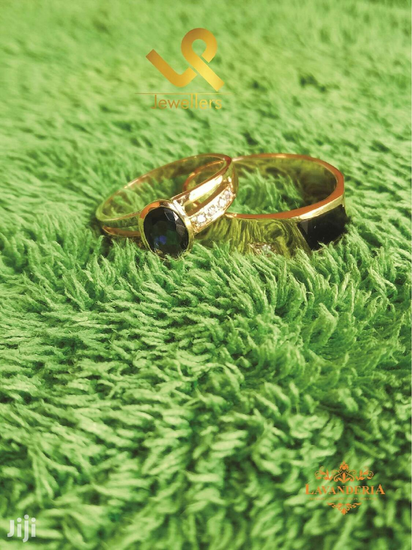 Custom Made 18k Gold Couple Bride N Groom Wedding Ring Bands | Wedding Wear & Accessories for sale in Nairobi Central, Nairobi, Kenya
