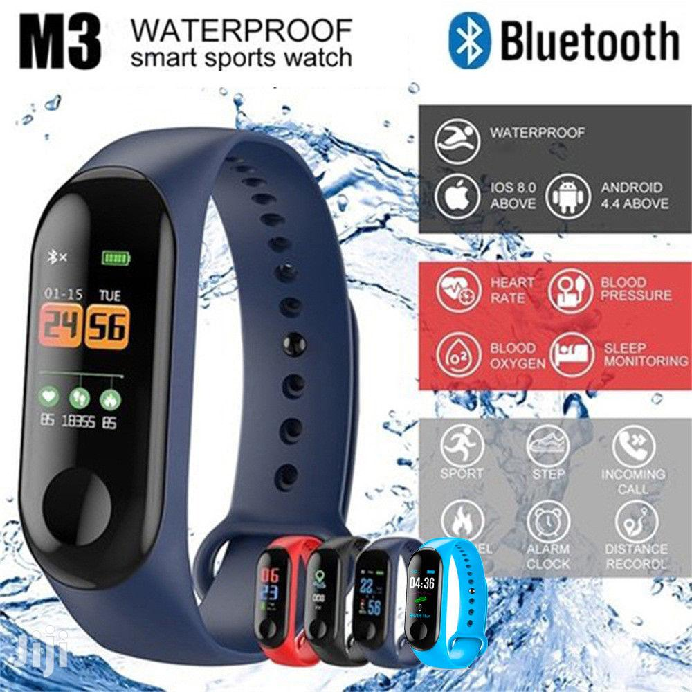 M3 Intelligence Health Sports Wrist Band Smart Bracelet Watch | Smart Watches & Trackers for sale in Nairobi Central, Nairobi, Kenya