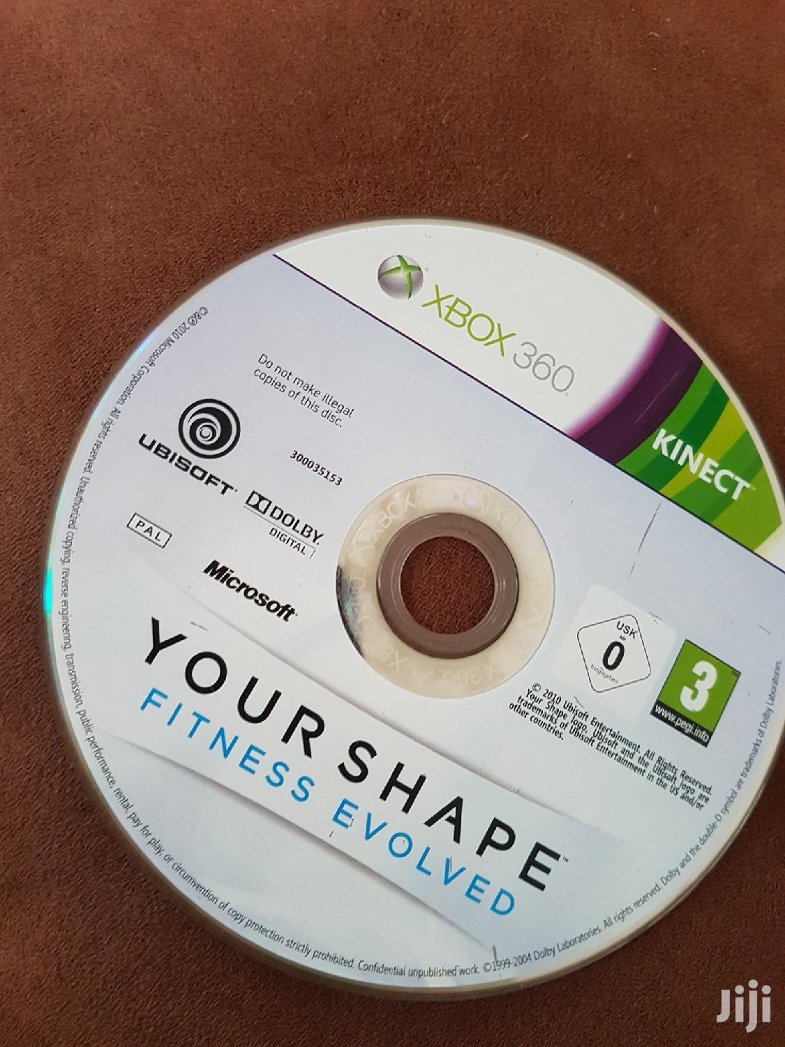 Archive: X Box 360 Kinect Cd