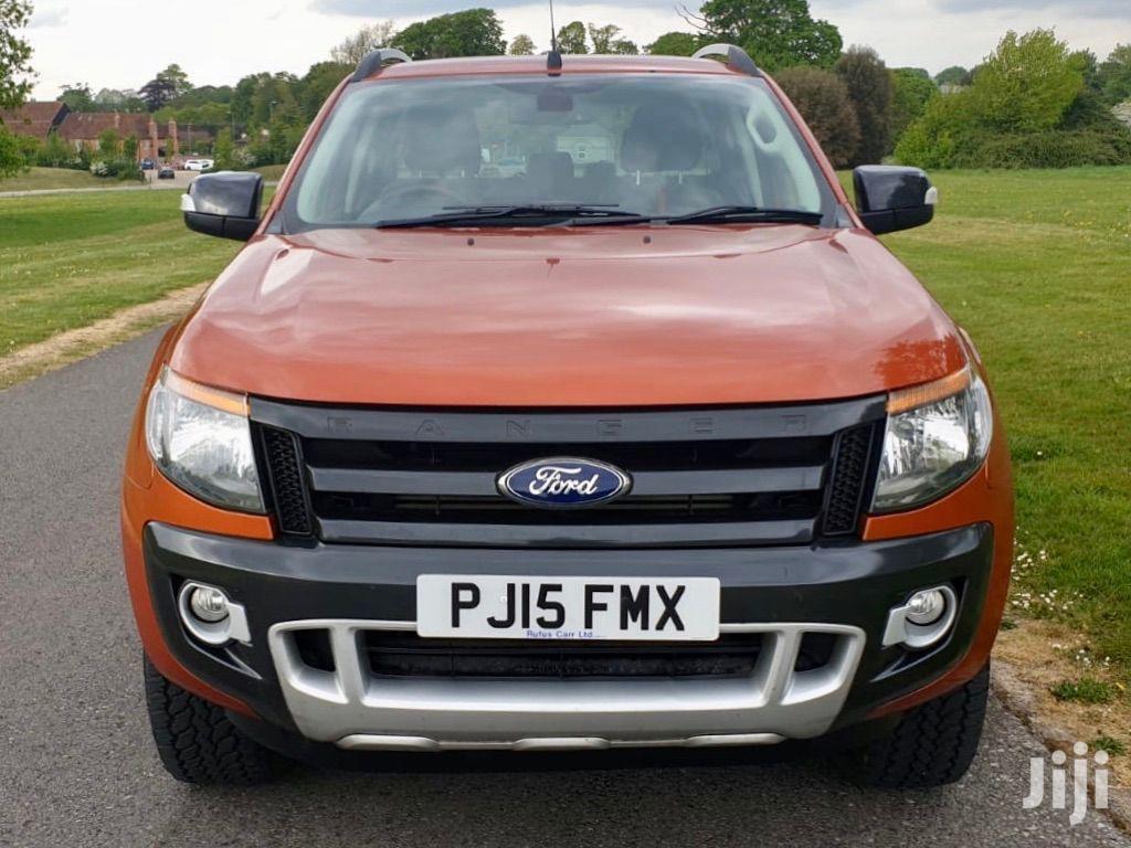 Ford Ranger 2018 Orange