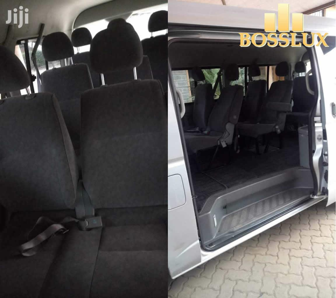 Archive: Van For Hire 9 Seater