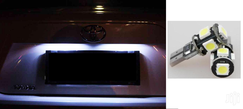 White Bright Number Plate LED Bulbs: For Toyota,Nissan,Subaru,Mazda,Vw