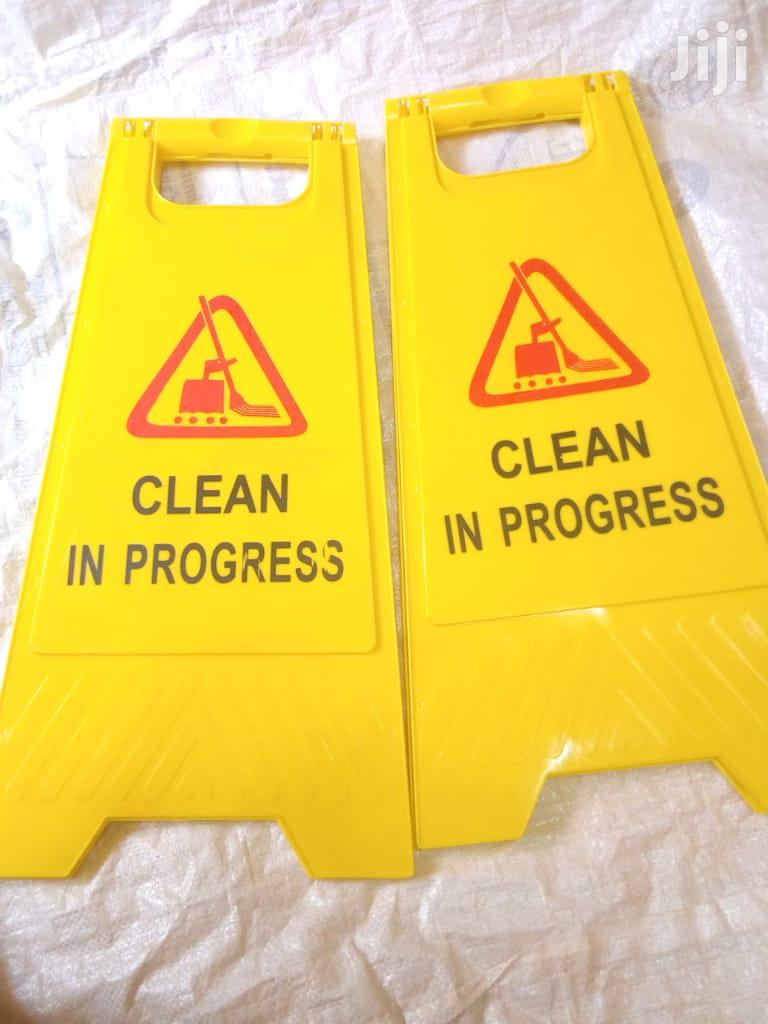 Safety Cleaning Signage