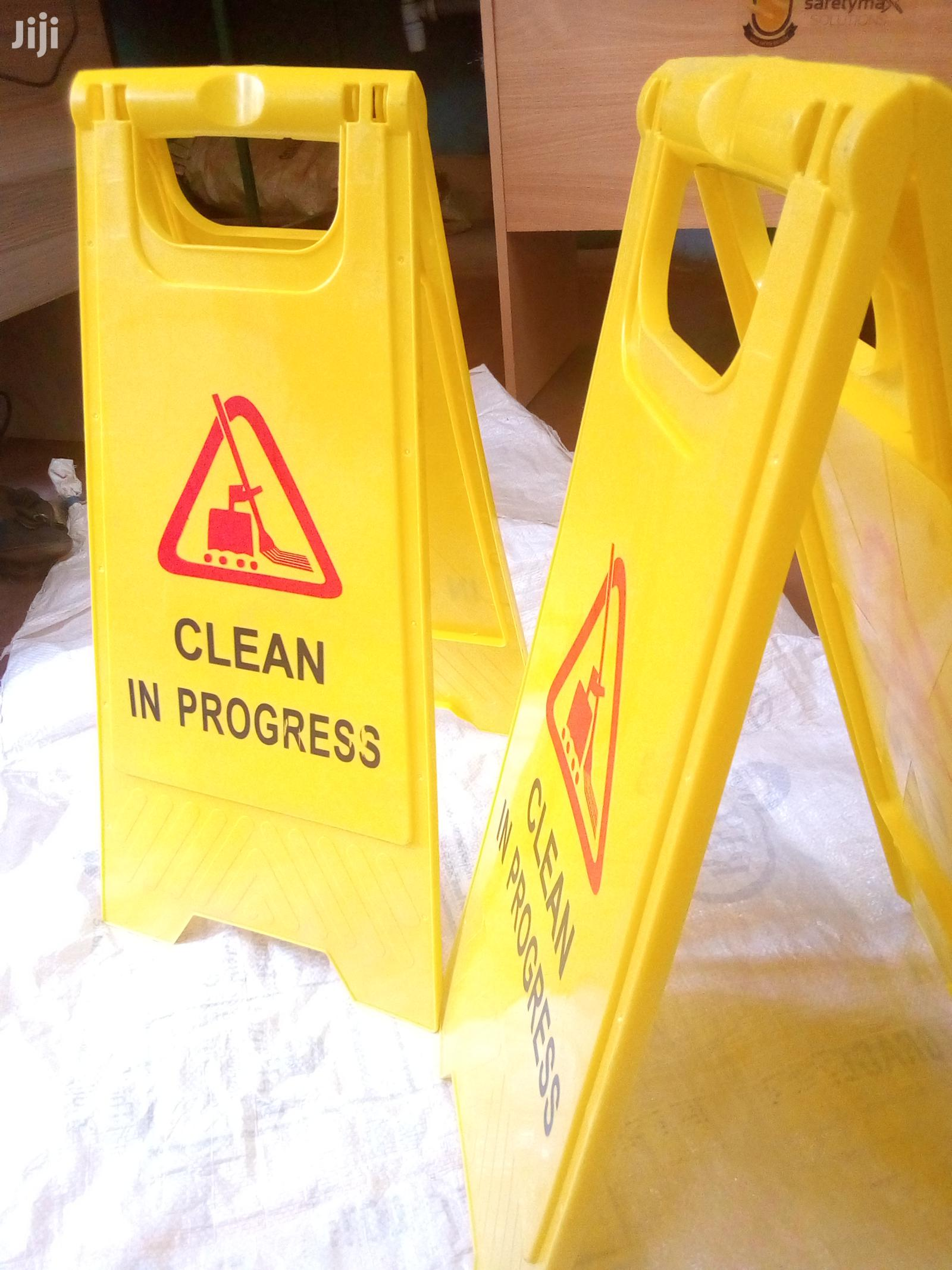 Safety Cleaning Signage | Safety Equipment for sale in Township E, Kiambu, Kenya