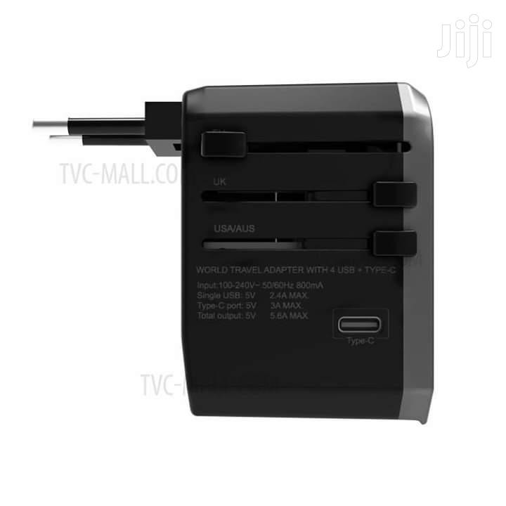 WIWU UA-301 Global Conversion Charger (Type-C + | Accessories for Mobile Phones & Tablets for sale in Tudor, Mombasa, Kenya