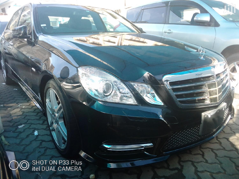 New Mercedes-Benz E250 2013 Black