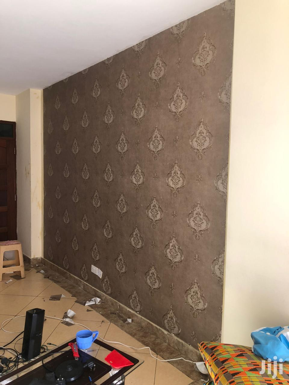 Archive: Professional Wall Paper Installation