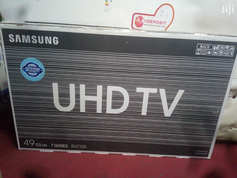 Samsung 49 Inch Class Hdr 4K Uhd Smart LED TV Ua49ru7100k 2019 Model