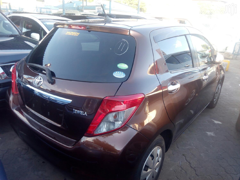 Archive: Toyota Vitz 2012 Brown