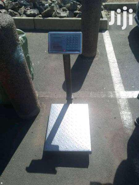 Archive: Digital Electronic Platform Scale Metal Base- 300kg