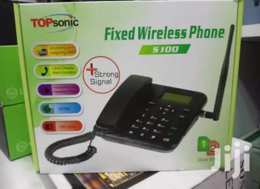 Topsonic Deskphone Gsm Phone Desk Phone