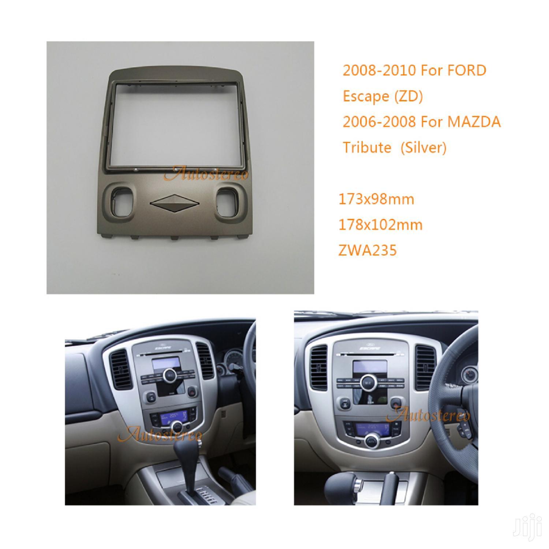 Mazda Tribute Or Ford Escape Radio Console Or Fascia