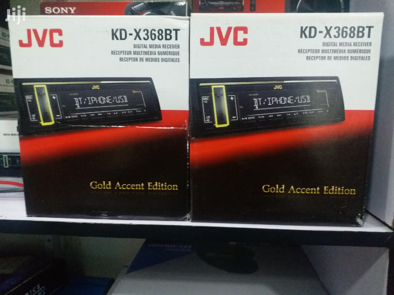 Brand New JVC KD-X368BT With Bluetooth/Fm/Aux/USB 3preouts