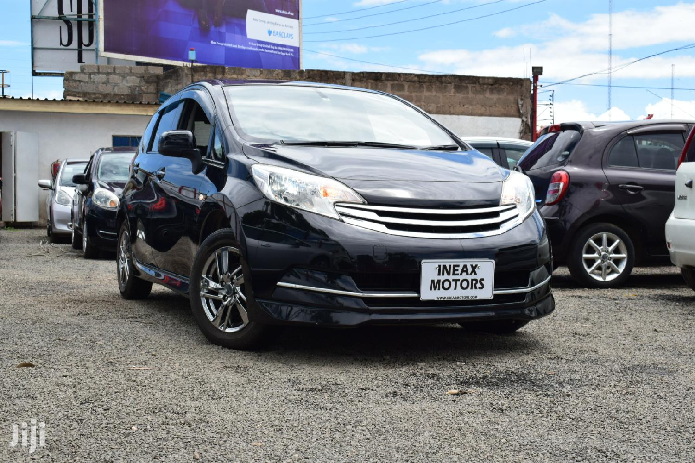 Nissan Note 2013 Black