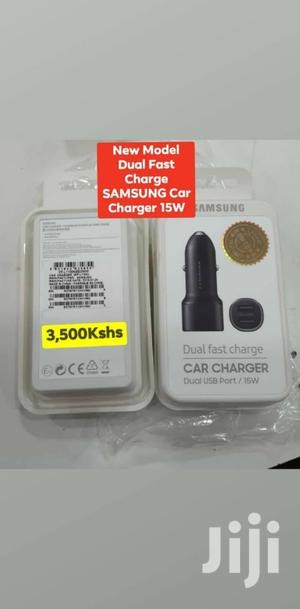New Model Dual Fast Charge Samsung Car Charger 15W | Vehicle Parts & Accessories for sale in Mombasa, Mvita